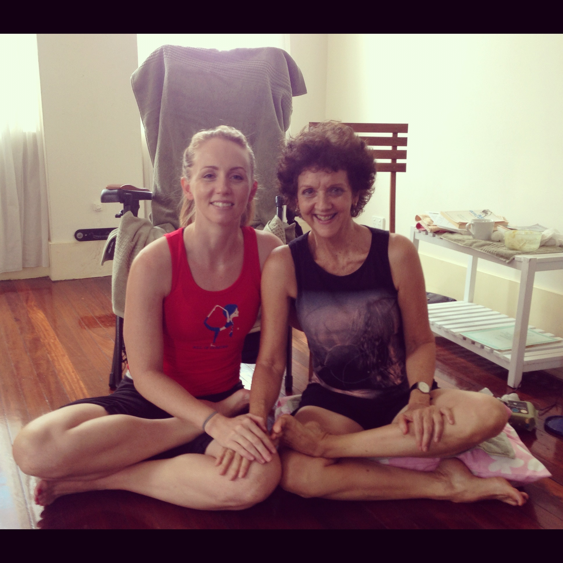Live and Breathe Yoga Townsville Yogi of the Month Brenda