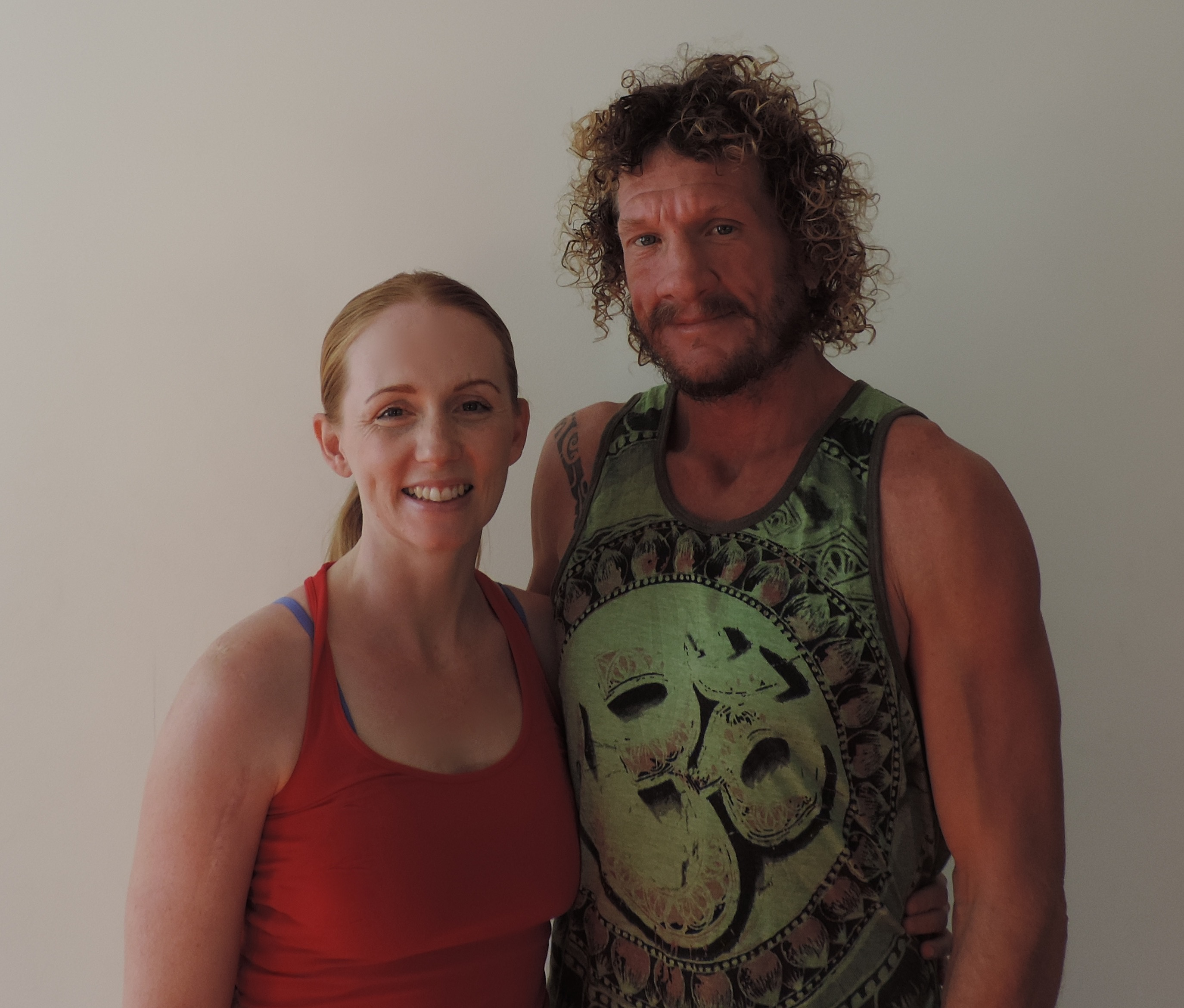 Live and Breathe Yoga Townsville Yogi of the month Steve