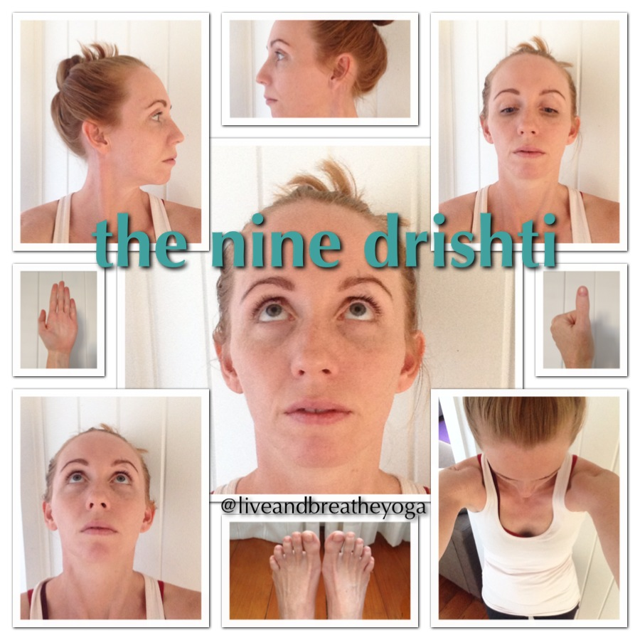 Live and Breathe Yoga Drishti Instagram challenge