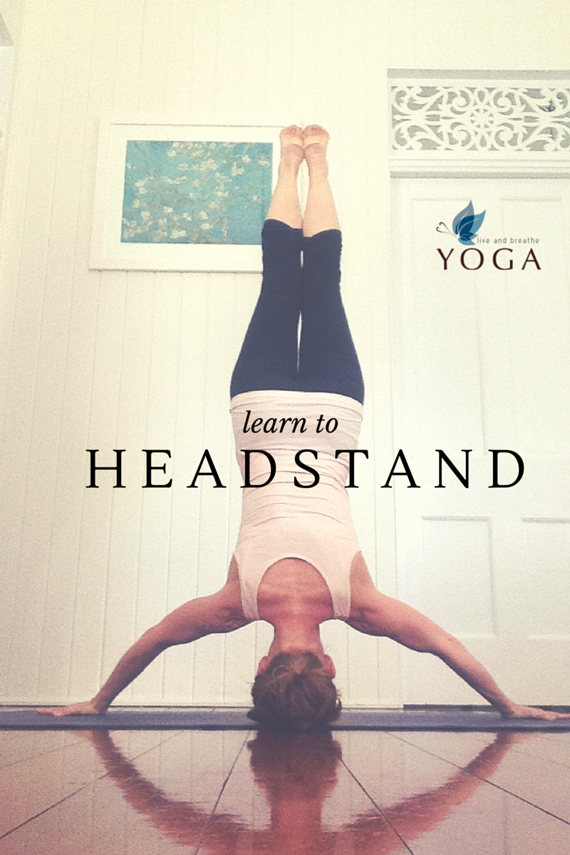 Learn to headstand with Live and Breathe Yoga
