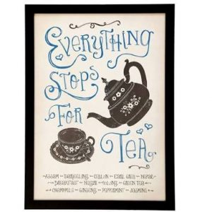 Live and Breathe Yoga : Everything stops for tea