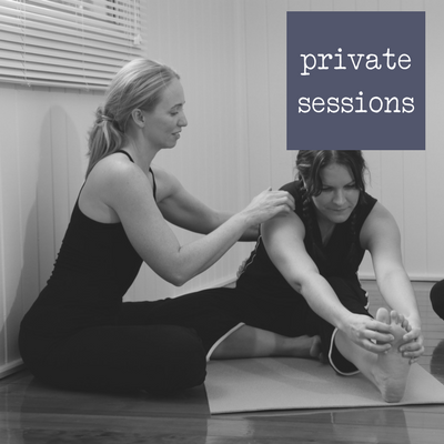 Private sessions :Live and Breathe Yoga
