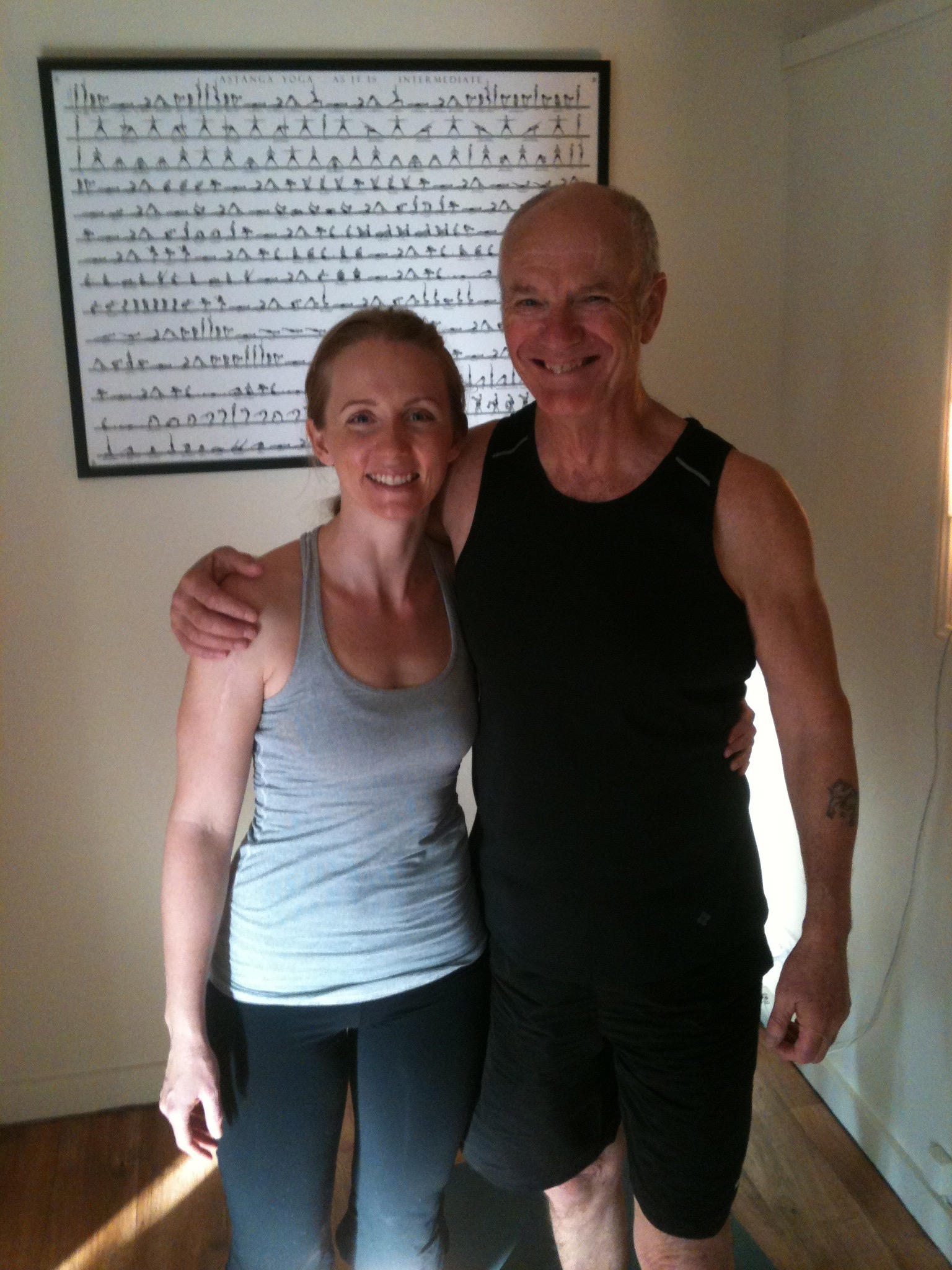Live and Breathe Yoga Townsville Yogi of the Month Frank