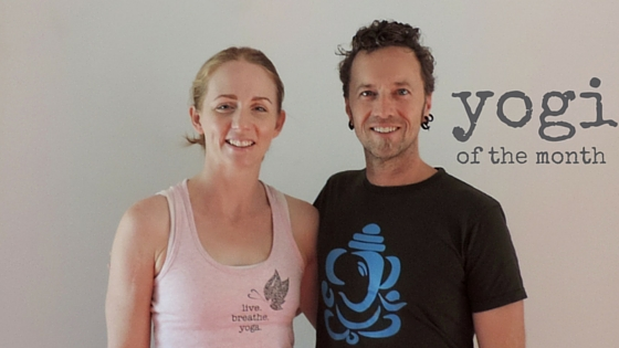 Live and Breathe Yoga Townsville Yogi of the month Josh