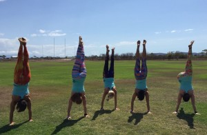 Live and Breathe Yoga handstands