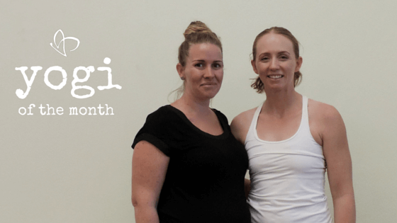 Live and Breathe Yoga Townsville Yogi of the month Angela