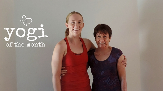 Live and Breathe Yoga - Yogi of the Month April - Townsville