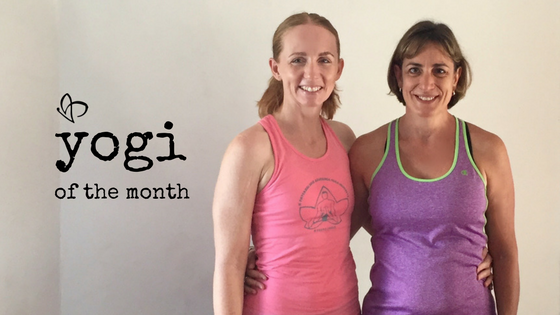 Live and Breathe Yoga Yogi of the month Helen